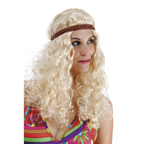 Perruque Hippie femme