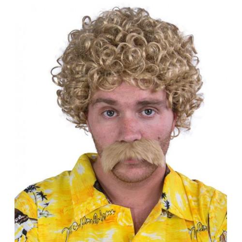 Perruque Lucien avec Moustaches