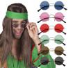 Lunettes Hippies Couleurs - 4 Coloris au Choix