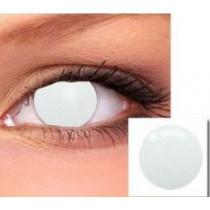 PROMO Paire de Lentilles de Contact Oeil Blanc Intégral