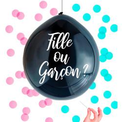 Ballon Confettis Fille ou Garçon