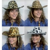 Chapeau Cowboy Velours - 4 Modèles au Choix