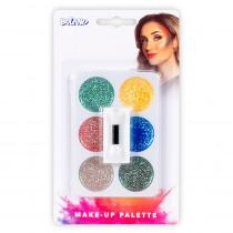 Kit Maquillage Palette 6 Couleurs Paillettes