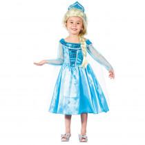 Déguisement Reine des Glaces Enfant : de 2 ans à 4 ans
