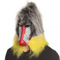 Masque Singe Mandrill Latex Luxe