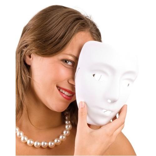 Masque Blanc Ordinaire