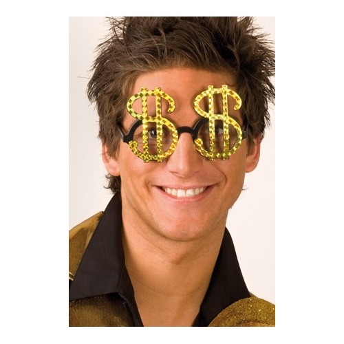 Lunettes Dollar Or