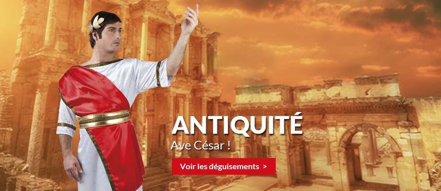 déguisements antiquités, romains, égyptiens