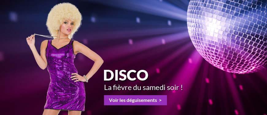 Déguisements Disco, année 70-80