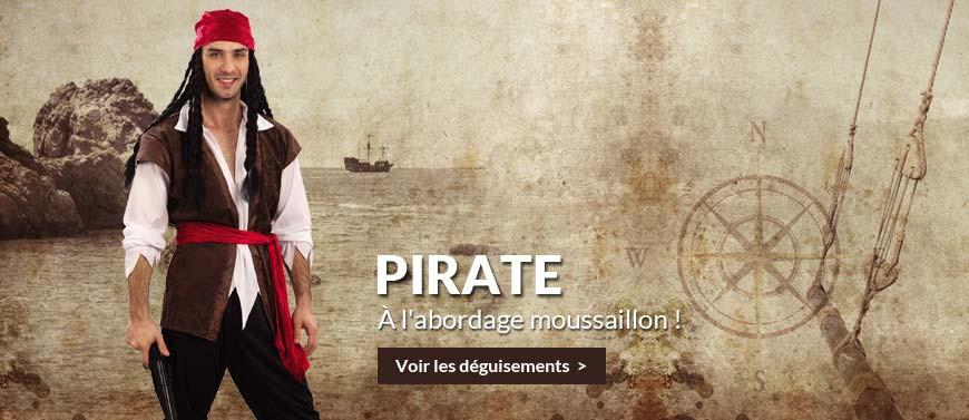 déguisements pirates